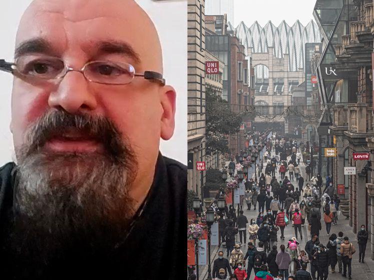 """Vlaming in Wuhan over coronacrisis: """"Toch beter de korte pijn dan de 10 maanden die jullie meemaken"""""""