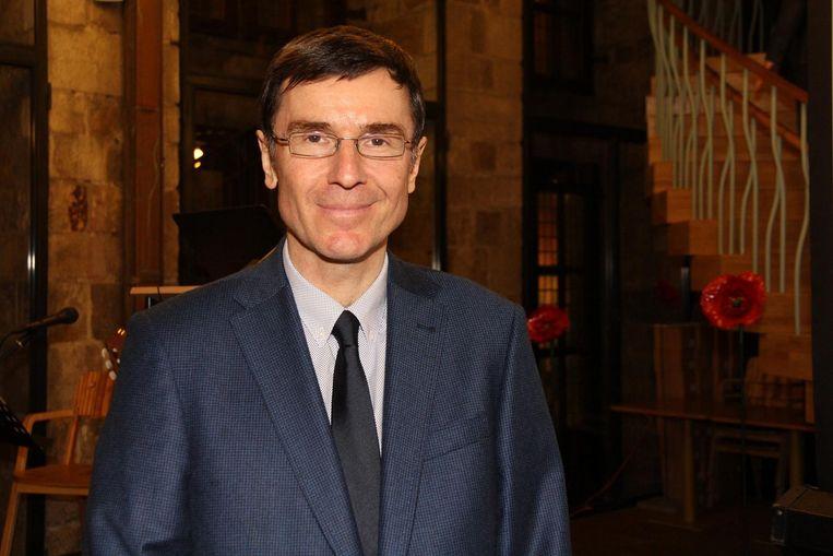 Zakelijk directeur Peter Slosse in het museum.