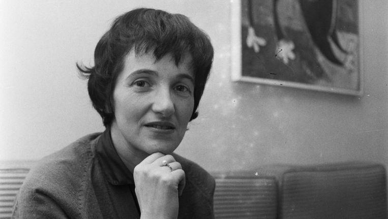 Marga Minco in 1958. Beeld Eli van Zachten / MAI / HH