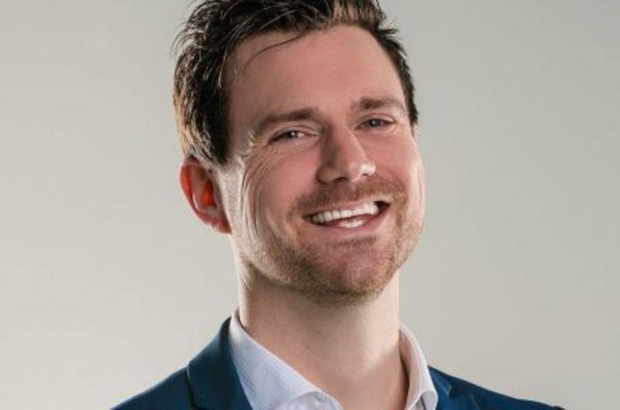 Wethouder Sander Bos.