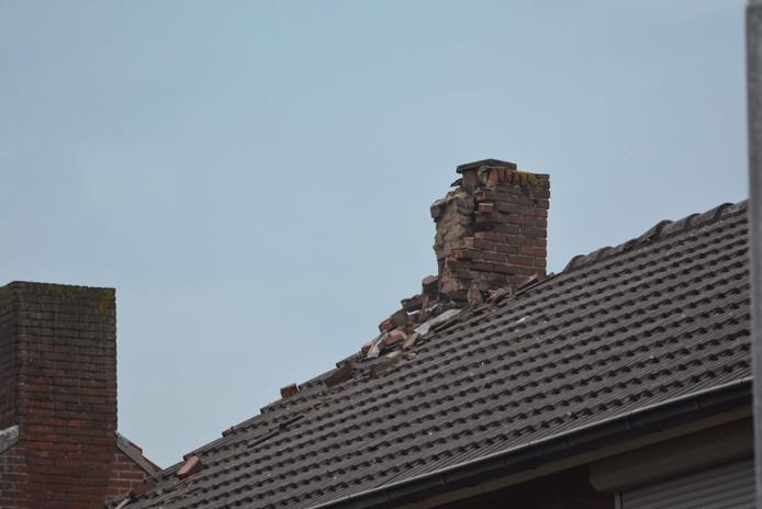 Schade op het dak in Veldhoven