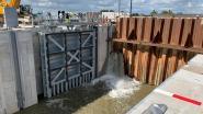 Er loopt water in de nieuwe sluis, deze zomer wordt die nog in gebruik genomen