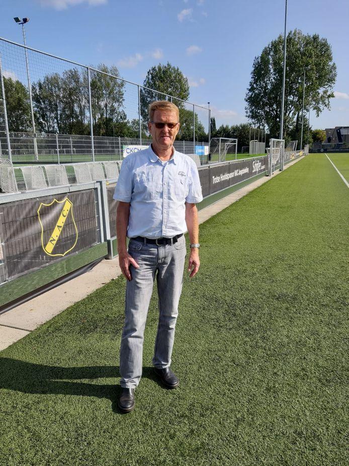 Jos Verdonschot, voorzitter van Overlegorgaan Bredase Amateurvoetbalclubs.