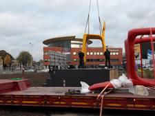 Stoelen Baas op bouwlocatie Bakermat Eindhoven