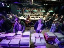 Een piepje en een kraakje is juist de charme bij platenbeurs in Bergen op Zoom