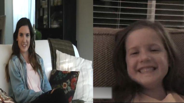 Vader interviewt dochter 13 jaar lang bij eerste schooldag