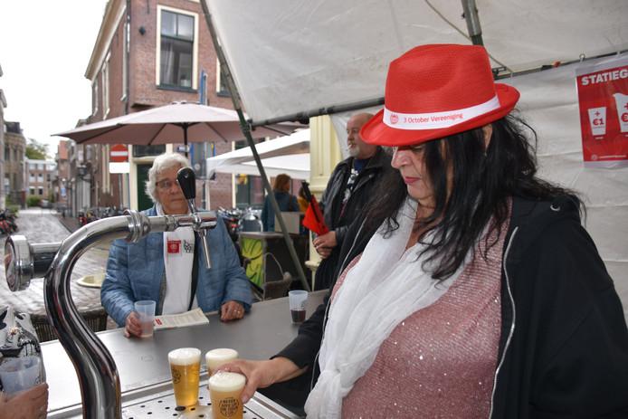 Statiegeldbekers tijdens het Leidens Ontzet.