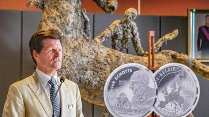 Briek Schotte krijgt zilveren herdenkingsmunt