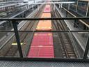 Over het traject Den Bosch-Eindhoven gaan steeds meer goederentreinen rijden.