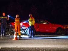 Geen gewonden, maar veel schade bij ongeval op A50 bij Veghel
