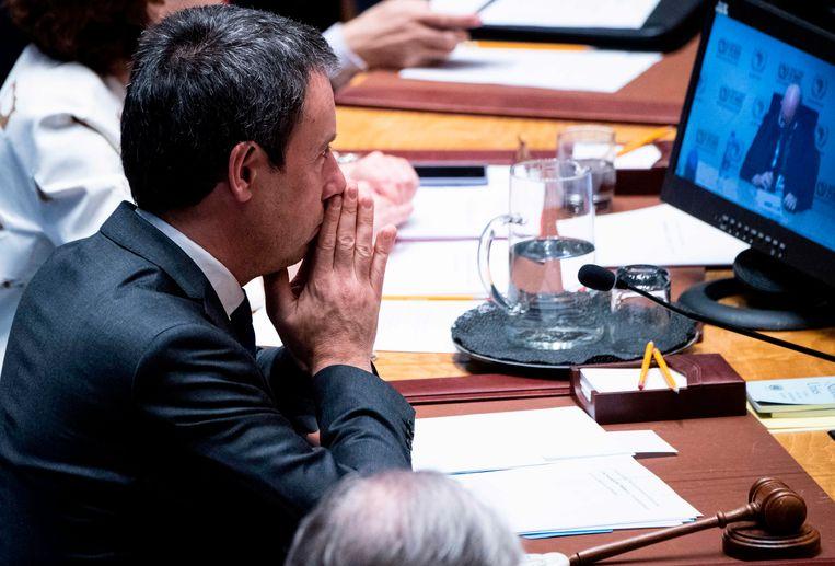 Belgisch minister van Buitenlandse Zaken Philippe Goffin op de VN-Veiligheidsraad.