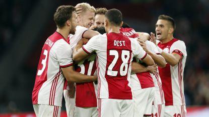 VOORRONDES. Ajax stoot door na felbevochten zege tegen PAOK - Cluj verrast Celtic - Krasnodar wipt Porto