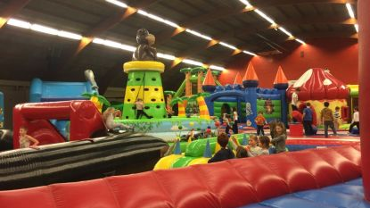 Jungle Jump strijkt neer in sporthal