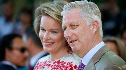 Koning Filip en koningin Mathilde naar inhuldiging keizer Japan