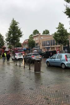 Zeer grote brand in winkelstraat Dedemsvaart onder controle