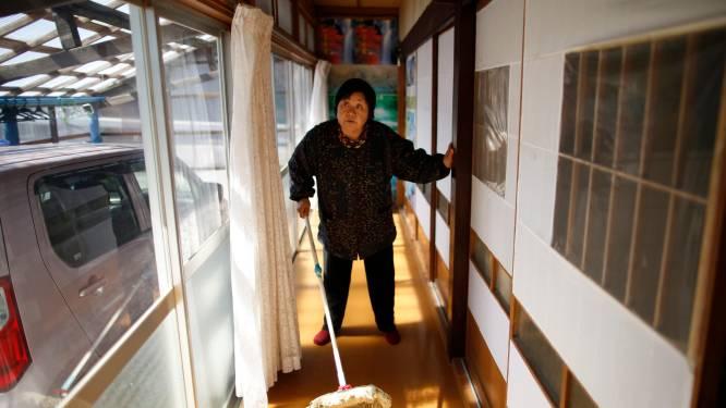 Omwonenden kerncentrale Fukushima terug naar huis