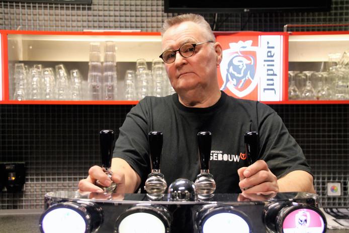 Joop de Wit werkt als vrijwilliger bij Gebouw-T.