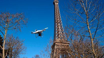 Franse rechtbank verbiedt politie drones te gebruiken in Parijs