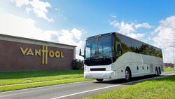 Van Hool bouwt eerste volledig elektrische autocar voor Amerikaanse markt