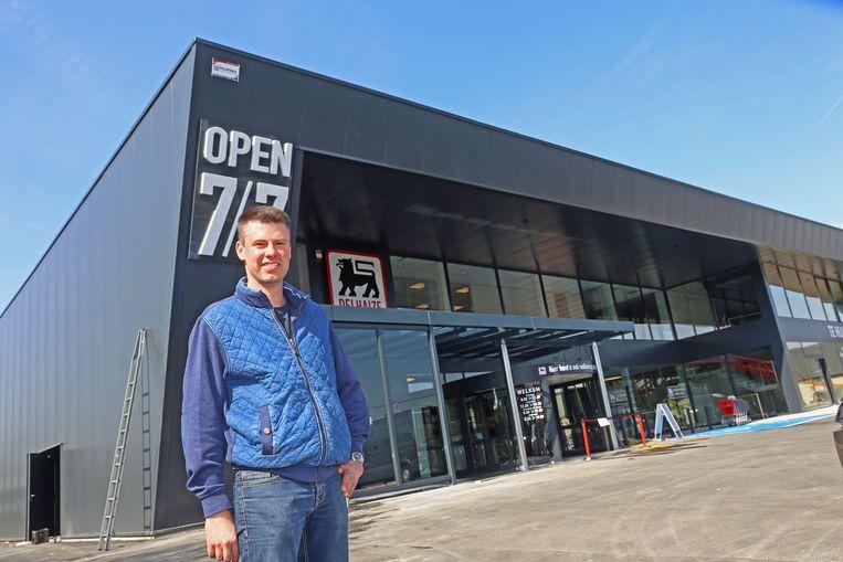 Dieter Debaveye van AD Delhaize Opwijk.