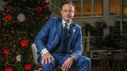 """De 100 Belgen van 2018. Bart De Wever (plaats 4): """"Als je moeder je kind wordt: dat hakt er diep in"""""""