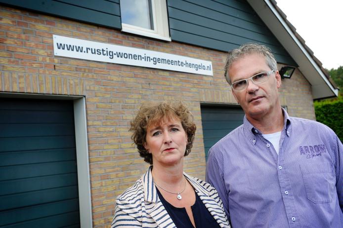 Bert en Anne Beernink strijden al jaren tegen de door hen aangevoerde geluidsoverlast van zwaar gehandicapte kinderen in dagopvang De Toermalijn.