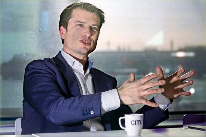 De nieuwe directeur Jeroen van Glabbeek.