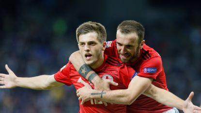 VIDEO. Eerste goal van de Nations League ligt er al (prinsheerlijk) in en dat zal vooral de fans van AA Gent plezieren