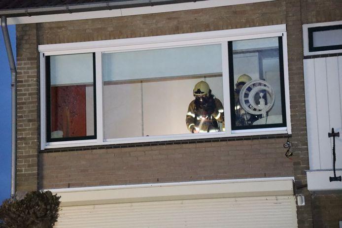 De volledige brandweerpost van Uden was opgeroepen