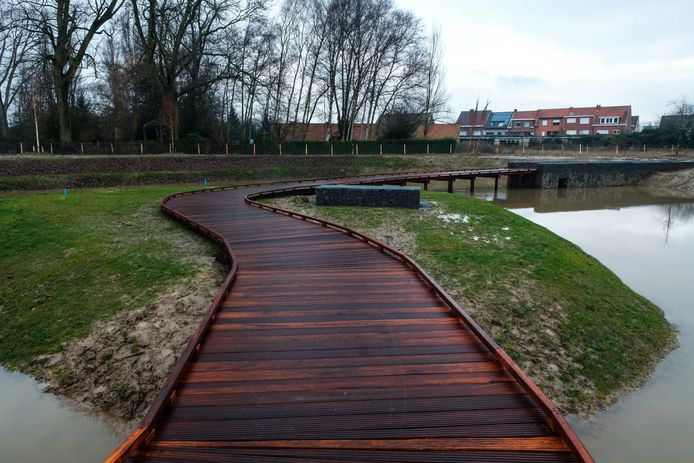 Het Vlonderpad in Borsbeek.