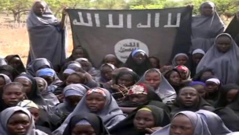 Vorige week verspreidde Boko Haram beelden van een deel van de ontvoerde schoolmeisjes.
