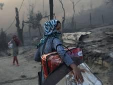 Reacties op afgebrand kamp Moria: 'De Grieken zien hoe hun paradijselijke eiland Lesbos vernietigd wordt'