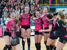 Volleybalsters FAST winnen nu wél in vijf sets van Peelpush