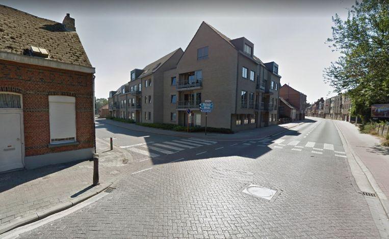Er wordt gewerkt aan het verkeerspunt dorp-Berlaarsesteenweg