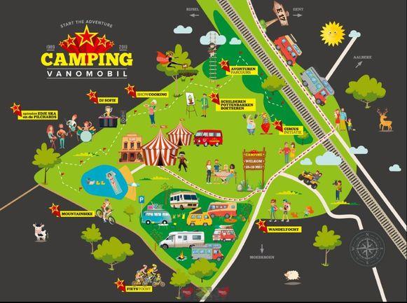 Camperzaak Vanomobil richt dit weekend 'Camping Vanomobil' in, en alle klanten en medewerkers van de drie vestigingen zijn er, samen met hun gezin, welkom om hun tent op te slaan. Of eerder hun camper te parkeren.
