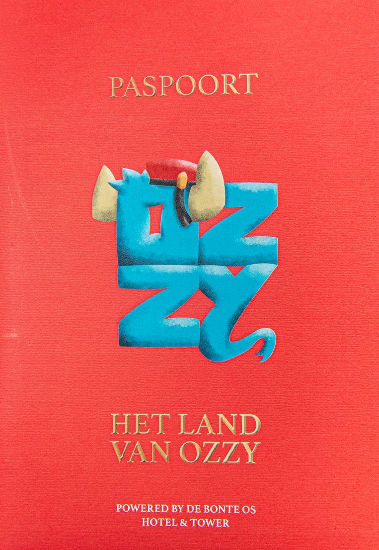 Het kinderpaspoortje 'Het Land van Ozzy'.