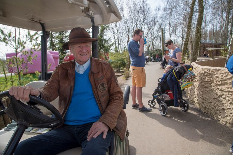 Harry Malter in april vorig jaar, in zijn familiepark.