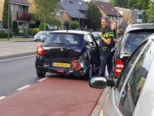 Flinke schade na aanrijding op Gronausestraat in Enschede