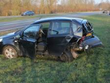 Automobiliste gewond nadat auto inrijdt op file