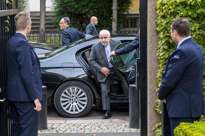 Mohammad Javad Zarif à Oslo, le 22 août 2019.