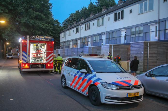 Woningbrand Fallastraat Tilburg