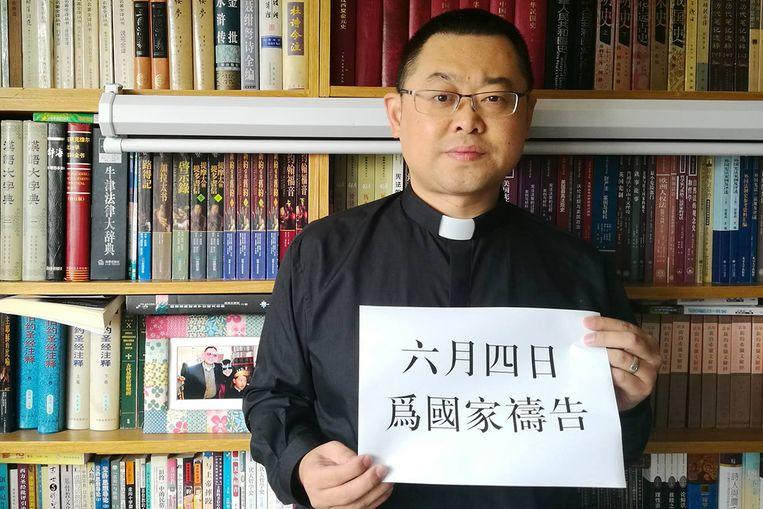 Dominee Wang Yi. Beeld Pray for Early Rain Covenant Church