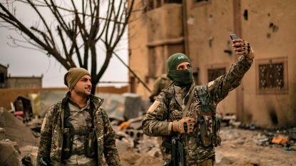 IS verdreven, puinhoop blijft achter