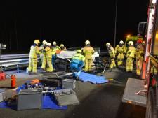Gewonden bij zwaar ongeluk op A50 zijn twintigers uit Apeldoorn en Utrecht