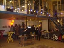 Jubileumfeestje Atelier Beheer Stichting in nieuw pand in Den Bosch