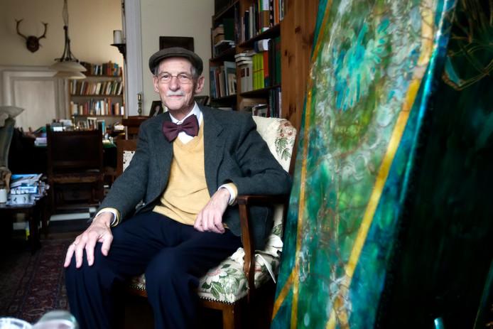 Jeroen Buve wachtte vol nieuwsgierigheid op zijn dood. Zijn kist stond in vol ornaat in de woonkamer. ,,Ik ben zo benieuwd naar mijn nieuwe wereld.''