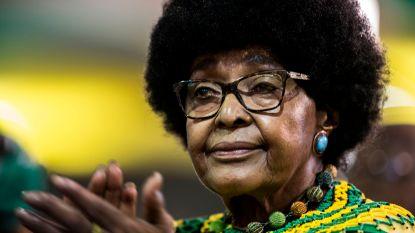 Winnie Mandela, ex-vrouw van Nelson Mandela, is overleden
