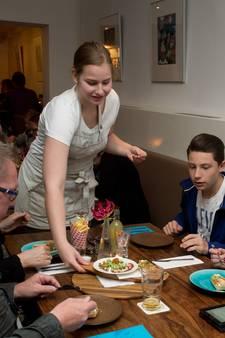 Bij Taste in Wageningen bestel je een ober via de tablet