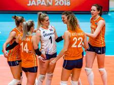 Volleybalsters met lege handen na sterk WK in Japan