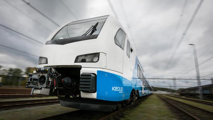 Keolis presenteert nieuwe trein op station Zwolle